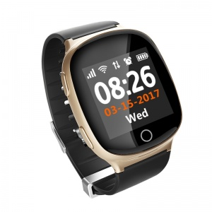 Умные часы ZDK D100 GPS Elder watch Heart rate monitor