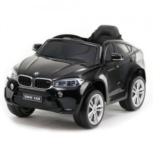Электромобиль Rivertoys BMW X6M JJ2199 черный