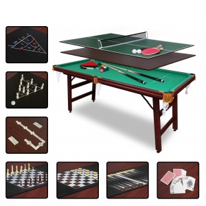Бильярдный стол Fortuna Billiard Equipment Fortuna Снукер 6фт 9 в 1